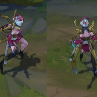 Blood Moon Elise skin screenshot