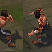 Traditional Lee Sin skin screenshot