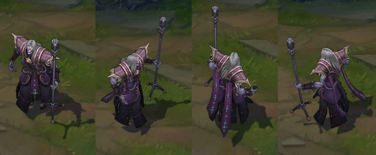 League of legends karthus skins