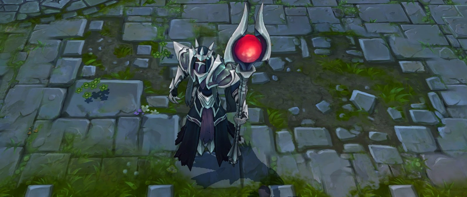 Statue Of Karthus Splash