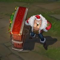 Santa Braum skin screenshot