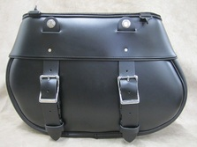 Motorcycle Saddlebags American Made in brown or white for Harley Davidson, Yamaha, Indian Motorcycles available in brown leather, white leather