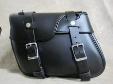 120 Special Slight Angle Leather Saddlebags