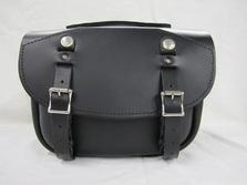 303 Short Pony Express  Leather Saddlebags