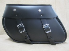 RK110 Heritage Style Road King  Leather Saddlebags