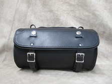 Leather Sissy Bar Saddlebag