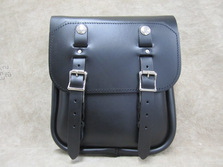 325L Left Side Softail Leather Solo Bag Leather Saddlebags