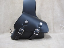 310T Small Throw Over Sportster Bag Leather Saddlebags