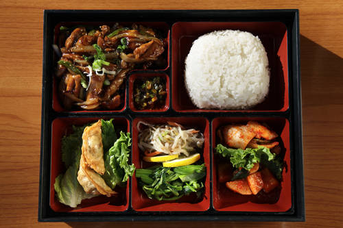 Chicken teriyaki lunch box [LARA CERRI  |  Times]