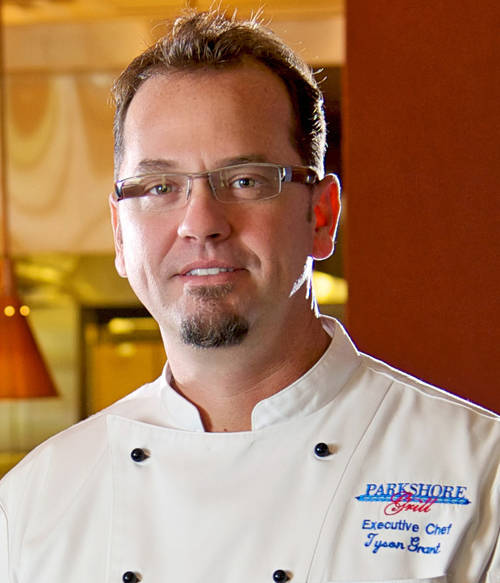 Tyson Grant has been the chef at Parkshore Grill since it opened. [ Courtesy Parkshore Grill ]