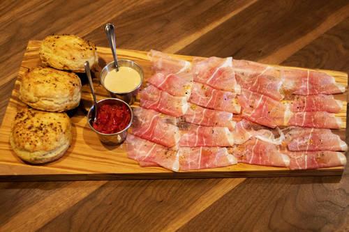 Benton's ham  [ALESSANDRA DA PRA  |  Times]