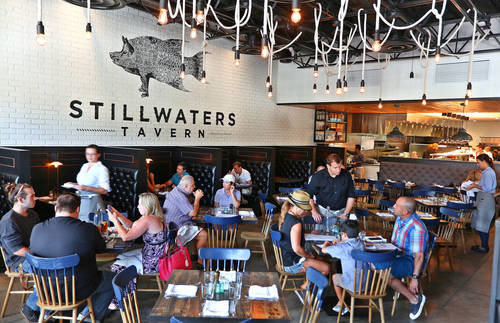 Interior of Stillwaters Tavern  [SCOTT KEELER  |  Times]