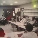 President Johnson Visits Jop Corp Recruits