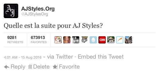 @AJStylesOrg→ Official Twitter's Account of the Phenomenal One, AJ Styles - Page 2 KxdwjWgQmsIwZEWZoyCwuzSe