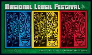 2013 National Lentil Festival Poster