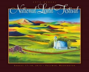 2012 National Lentil Festival Poster