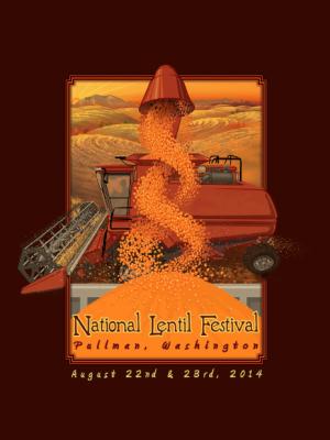 2014 National Lentil Festival Poster