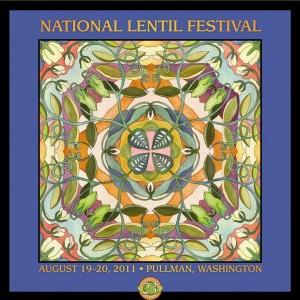 2011 National Lentil Festival Poster
