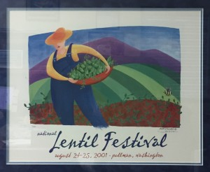 2001 National Lentil Festival Poster