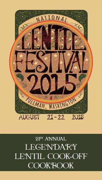 2015 Legendary Lentil Cook-Off Cookbook