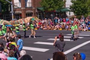 Lentil Dragon in Grand Parade