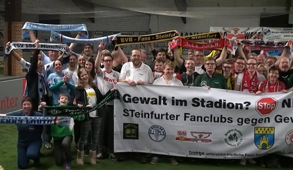Steinfurter fanclubs gegen gewalt