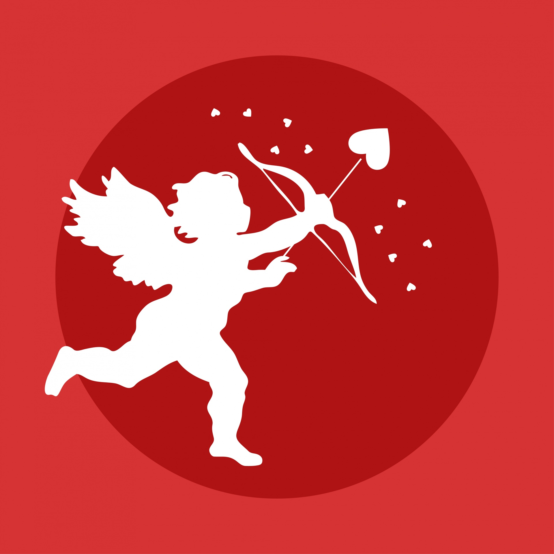 images of cupid with heart