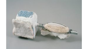 "Drew Shiflett, ""Clouds For Fish"", 1992, paper, glue, metal scrap, Styrofoam, .... Image #1061"