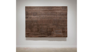 "Drew Shiflett, ""Back to Back"", 1986, wood, paper, acrylic paint construction,.... Image #1161"
