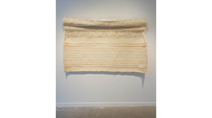 "Drew Shiflett, ""Sheet With Ribbing and Trough"", 2003 9installation view). Image #1177"