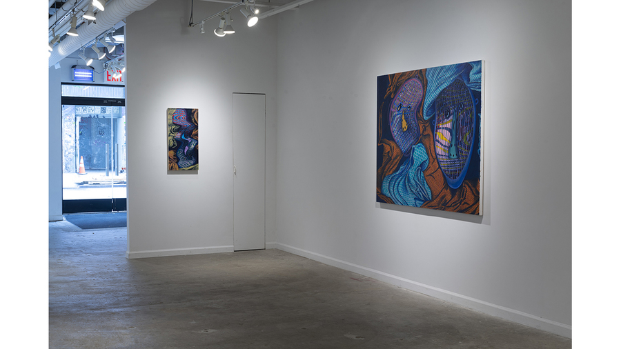 Jeff Way: Topsy-Turvy (installation view)