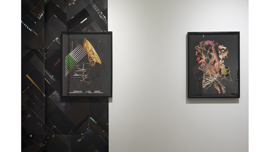 Paul Loughney: Confetti of the Mind (installation view)