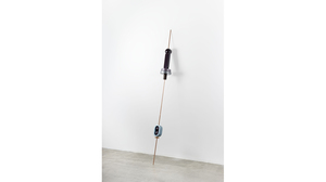 "Reuven Israel, ""SBM11"", 2014, Copper and coated steel rod, painted MDF and wo.... Image #462"