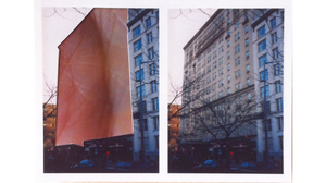 "Ryan Sarah Murphy, ""Split, Brooklyn Heights"", 2015, photo-collage (mounted on.... Image #469"