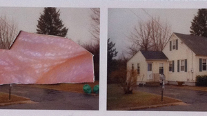 "Ryan Sarah Murphy, ""Split, Dover"", 2015, photo-collage (mounted on matte boar.... Image #471"
