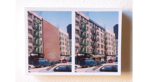"Ryan Sarah Murphy, ""Split, East Harlem"", 2015, photo-collage (mounted on matt.... Image #474"