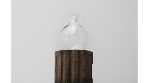 "Caroline Woolard, Helen Lee, Alex Rosenberg ""Column"", Turned cherry wood Colu.... Image #733"