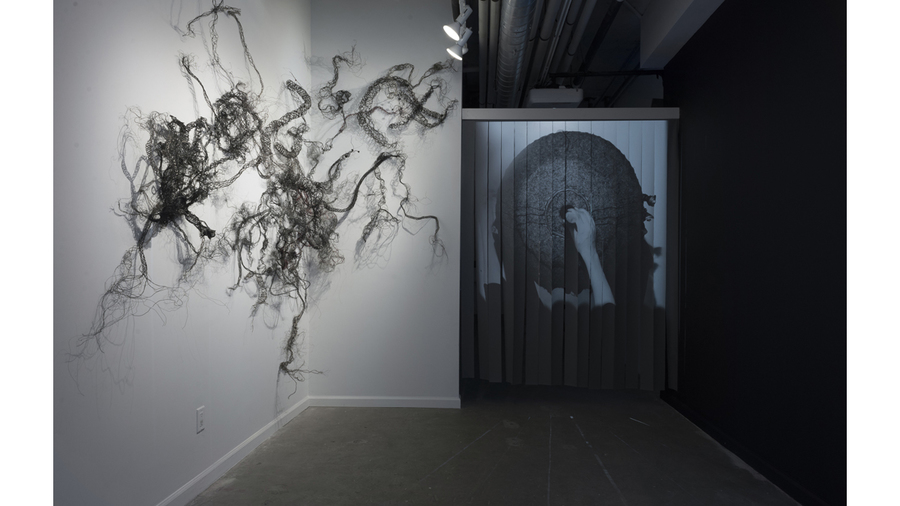 "Nene Humphrey: ""Transmission"" (installation view)"