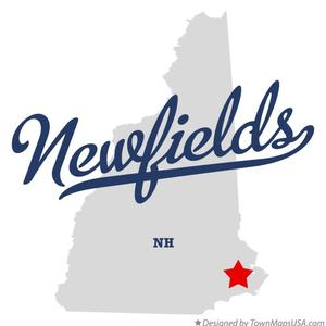 Map of newfields nh