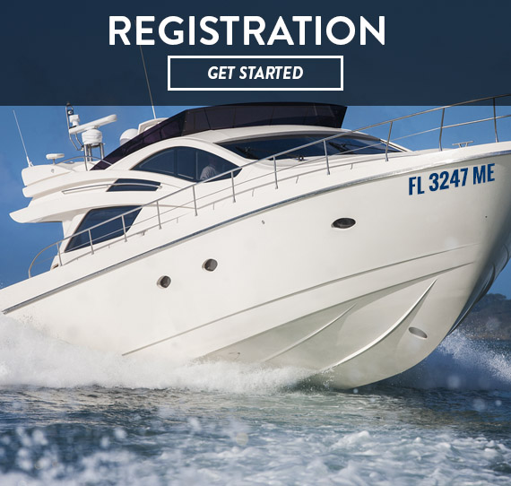 Boat Lettering - Registration