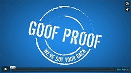 Goof Proof Guarantee