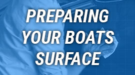 Preparing Your Boats Surface