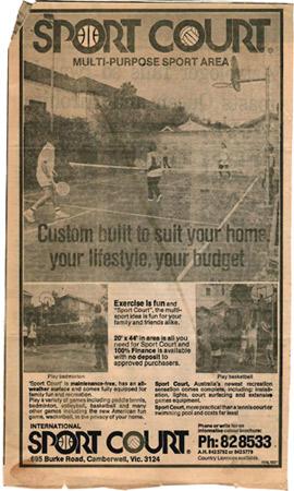 old advertisement1979