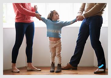 Asegurar el cuidado de los hijos es fundamental en cualquier divorcio