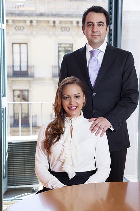 Los fundadores del despacho de abogados MARIN&PASALODOS