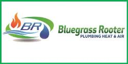 Website for Bluegrass Rooter Drain Cleaning, Plumbing, Heating & Air, LLC