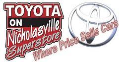 Website for Toyota On Nicholasville