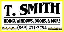T. Smith Siding & Windows, Inc.