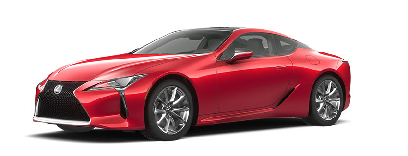 2018 LC 500 in Infrared