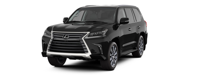 2017 LX 570 in Starlight Black Mica